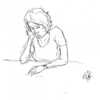 Judith grognonne par Sushi - Pour Ayaluna - Festiblog 2011