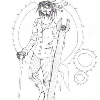 Steampunk Lord par Zenith - Pour Ayaluna - Festiblog 2011